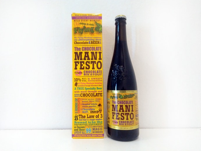 Cerveza Flying Monkeys The Chocolate Manifesto