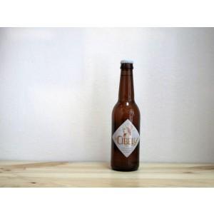 Botella de Cerveza La Cibeles Trigo