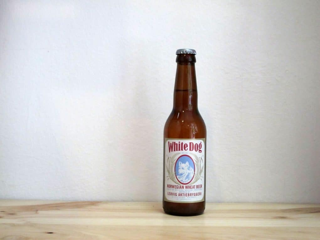 Botella de Cerveza Lervig White Dog