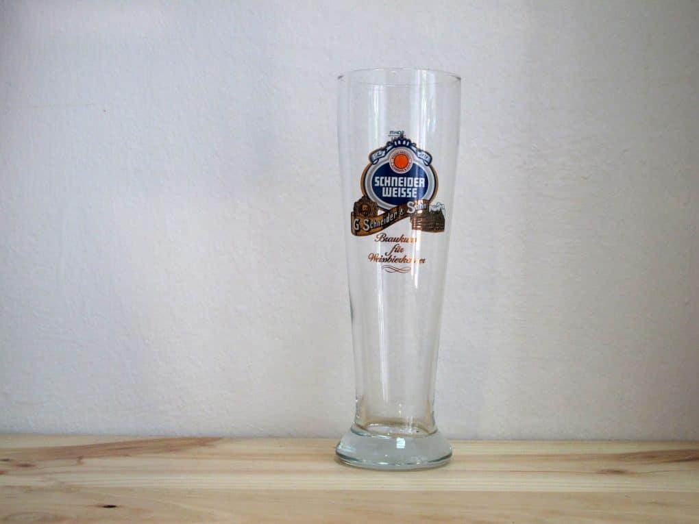 Vaso de cerveza Schneider Weisse