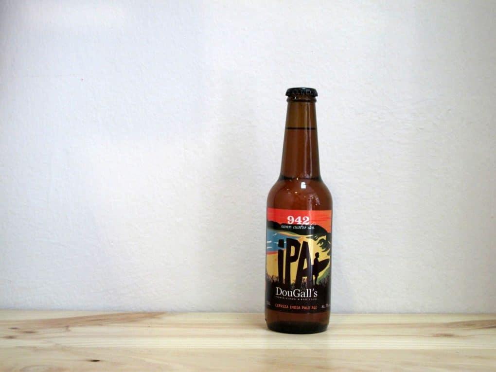 Botella de Cerveza DouGall's 942 IPA