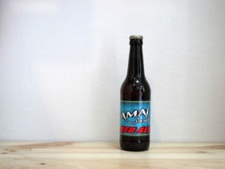 Botella de Cerveza Amai Red Ale