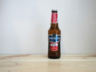 Botella de Cerveza sin alcohol Bavaria 0,0º