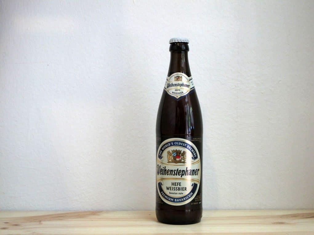 Botella de Cerveza Weihenstephaner Hefeweissbier