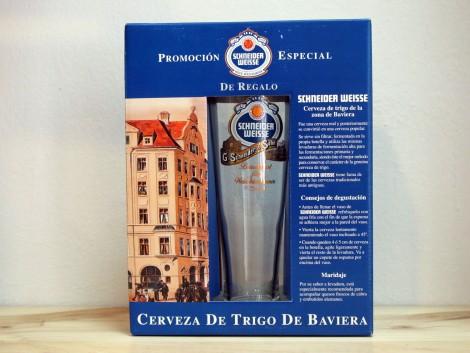 Schneider Weisse Pack - 2 botellas  + Vaso