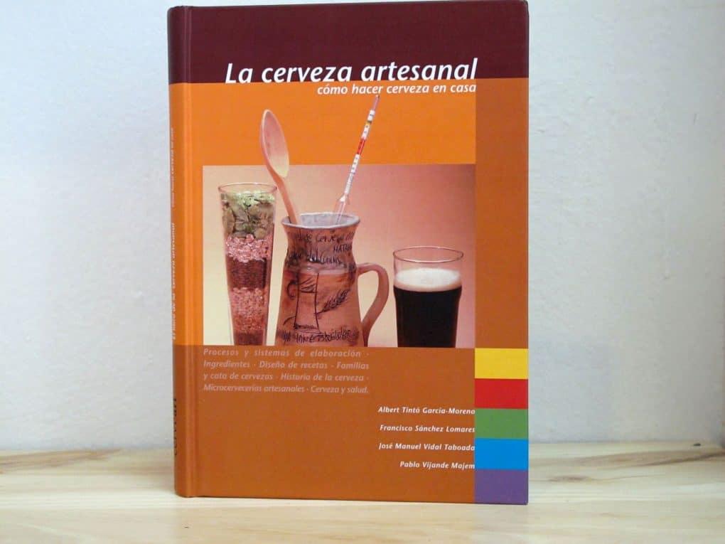 """Libro """"La cerveza artesanal - Cómo hacer cerveza en casa"""""""
