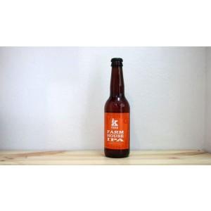 Botella de Cerveza Kees Farmhouse IPA
