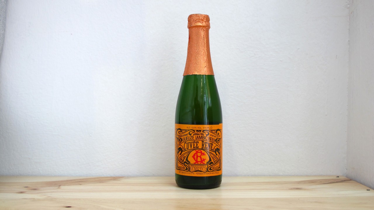 Botella de Cerveza Lindemans Gueuze Cuvée René
