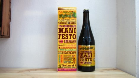 Botella de Cerveza Flying Monkeys The Chocolate Manifesto 75 cl