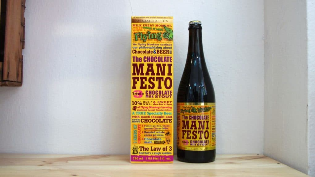 Botella de Cerveza Flying Monkeys The Chocolate Manifesto 75 cl