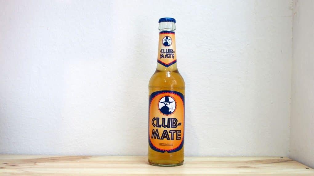 Botella de Refresco con cafeina Club Mate 33 cl