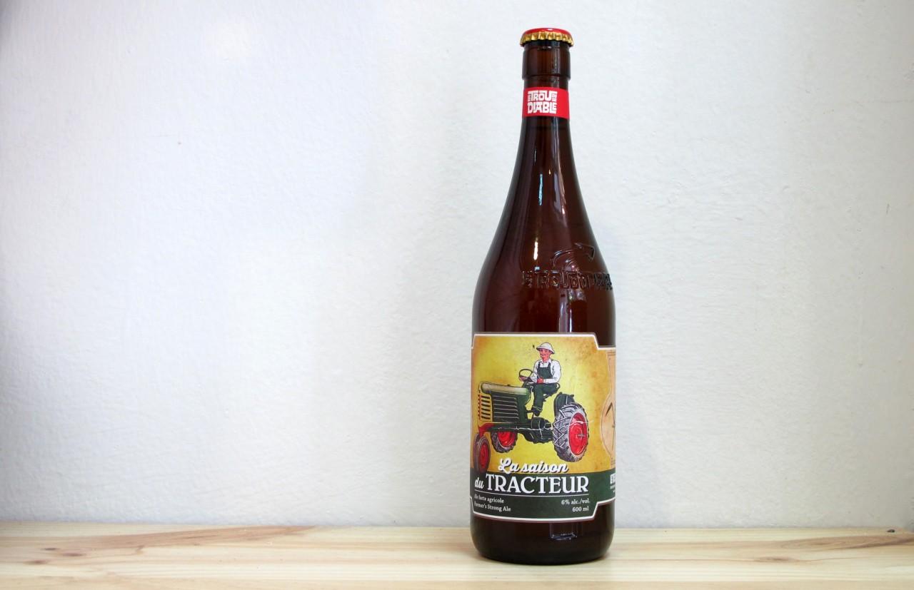 Botella de Cerveza Le Trou du Diable La Saison du Tracteur 600 ml