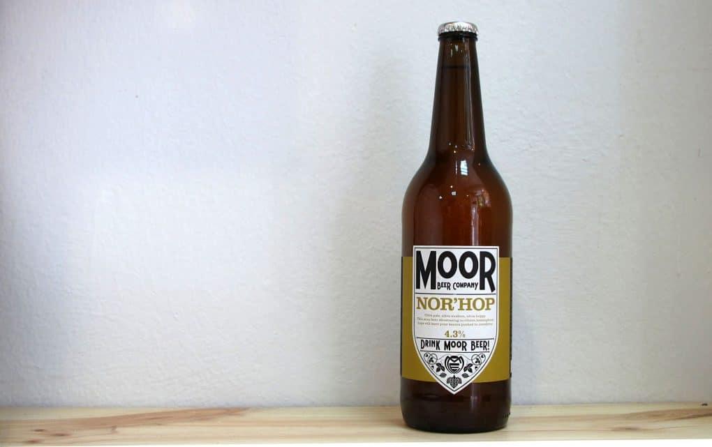 Botella de Cerveza Moor Nor'hop