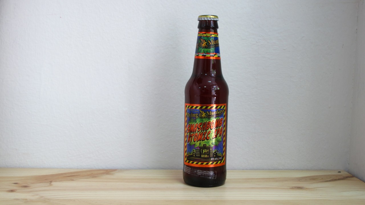 Cerveza Flying Monkeys Smashbomb Atomic IPA 33 cl