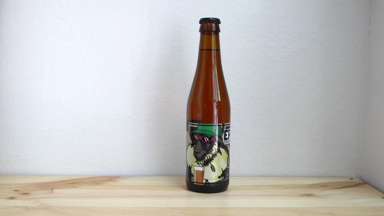 Botella de Cerveza Laugar EPA!