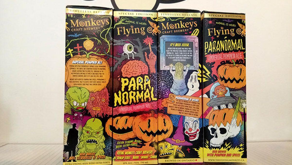Flying Monkeys Paranormal Imperial Pumpkin Ale