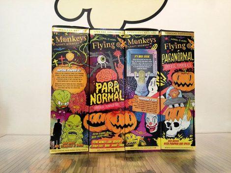 Botella Flying Monkeys Paranormal Activity Pumpkin Ale