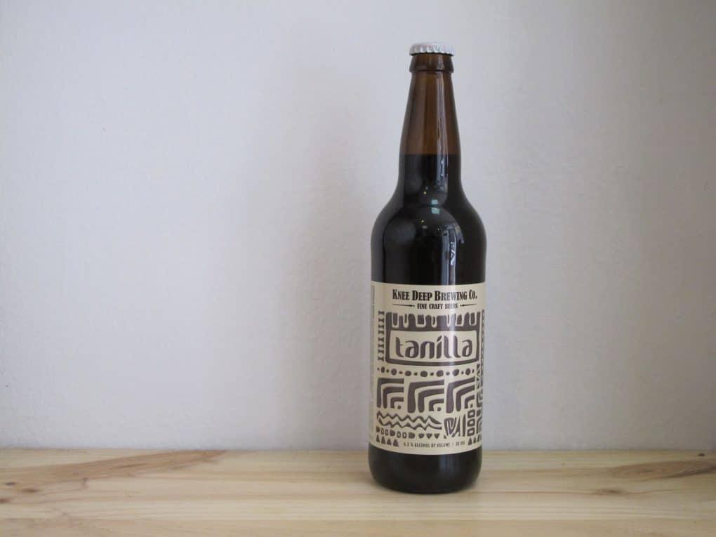 Cerveza Knee Deep Tanilla - Porter 66 cl