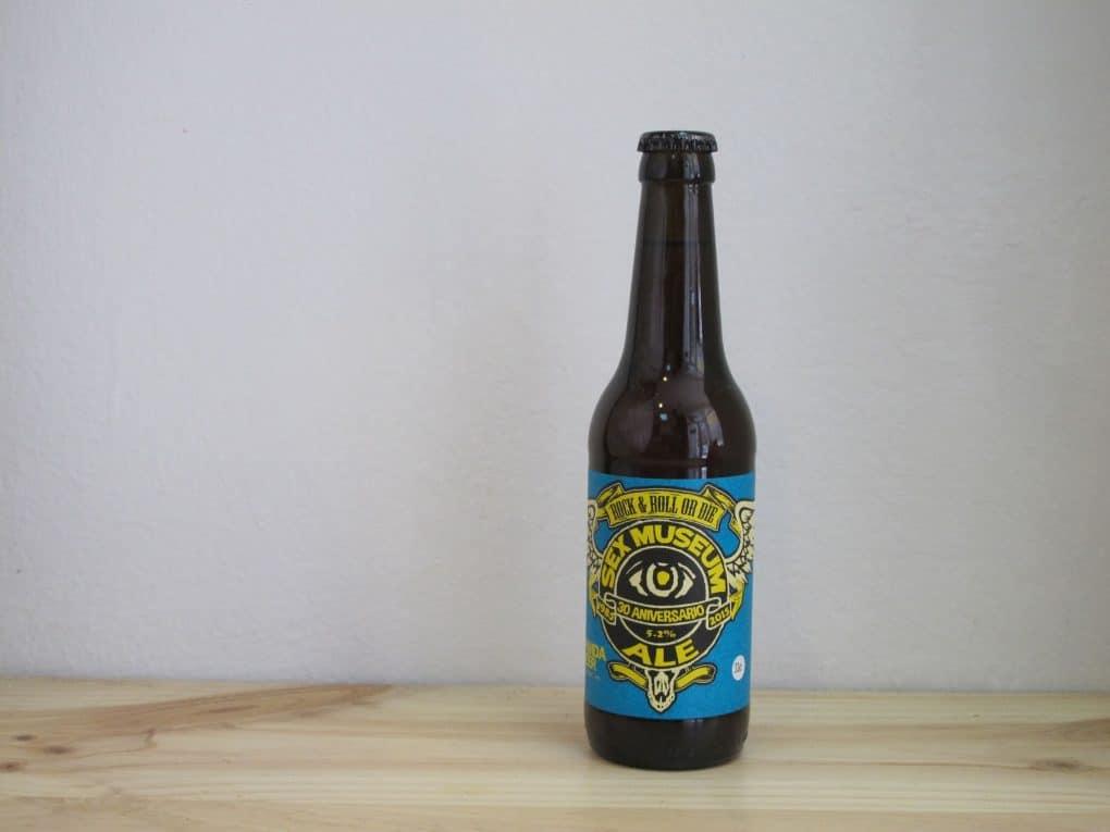 Cerveza Panda Beer Sex Museum 30 Aniversario Ale