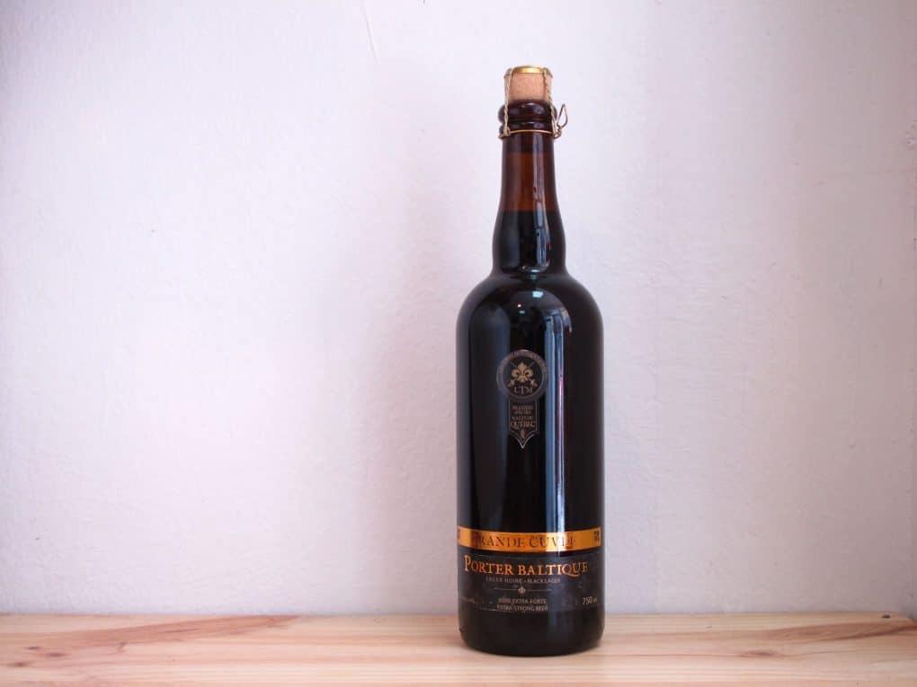 Cerveza Les Trois Mousquetaires Porter Baltique Grande Cuvée
