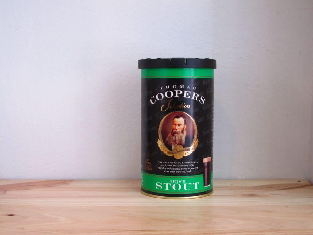 Extracto de malta Coopers Irish Stout