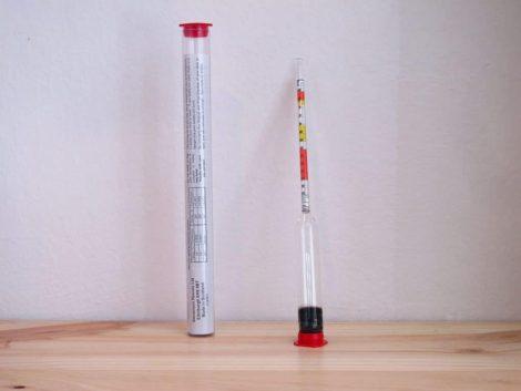 Densímetro Stevenson 3 escalas
