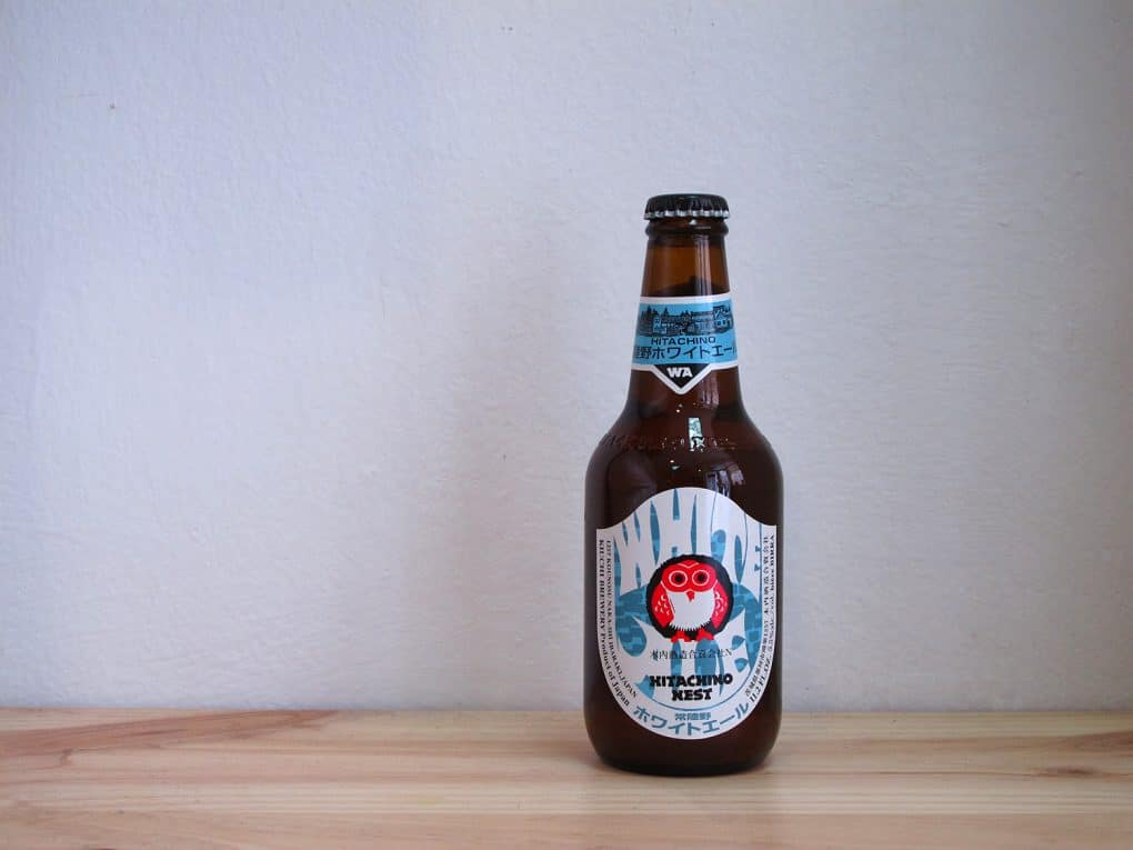 Botella de Cerveza Hitachino Nest White Ale