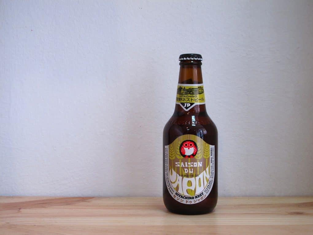 Botella de Cerveza Hitachino Nest Saison du Japon