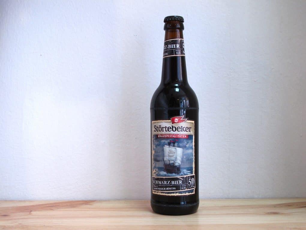 Cerveza Störtebeker Schwarz-Bier