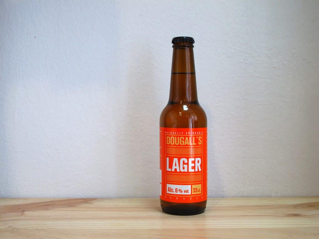 Cerveza artesanal DouGall's 75 Day Lager