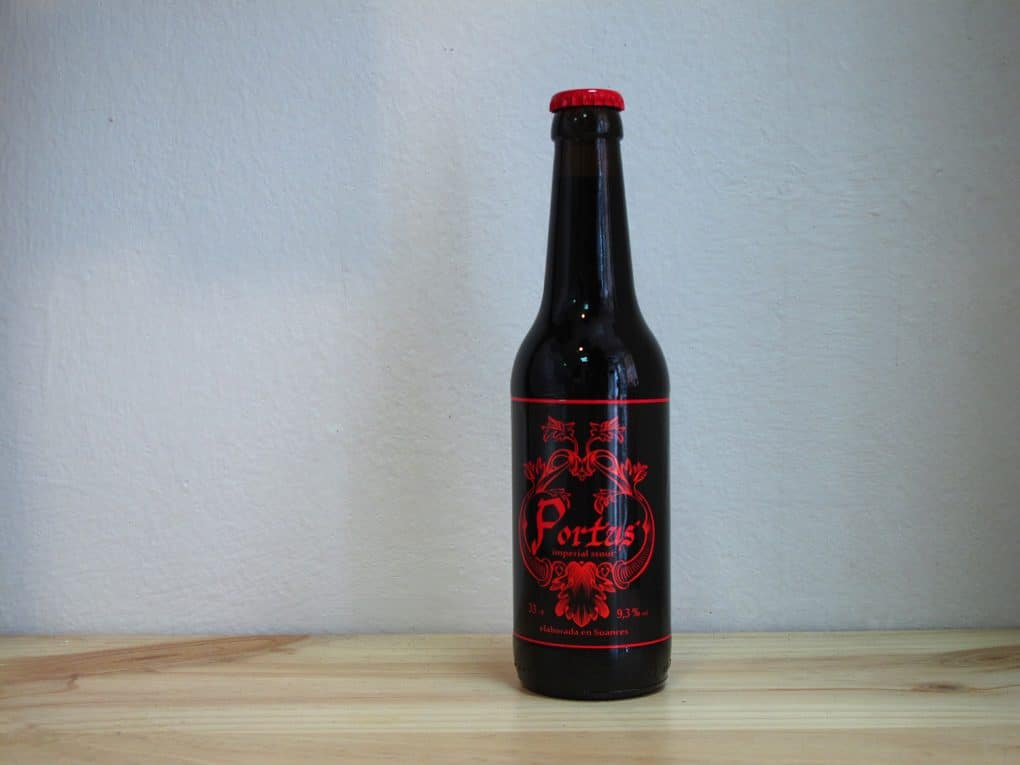 Botella de Cerveza Portus Imperial Stout