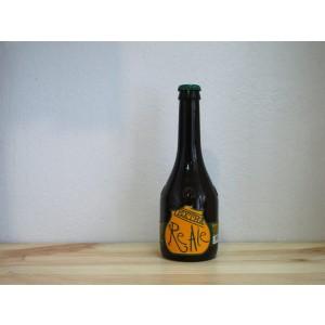 Botella de Cerveza italiana Birra del Borgo ReAle Extra