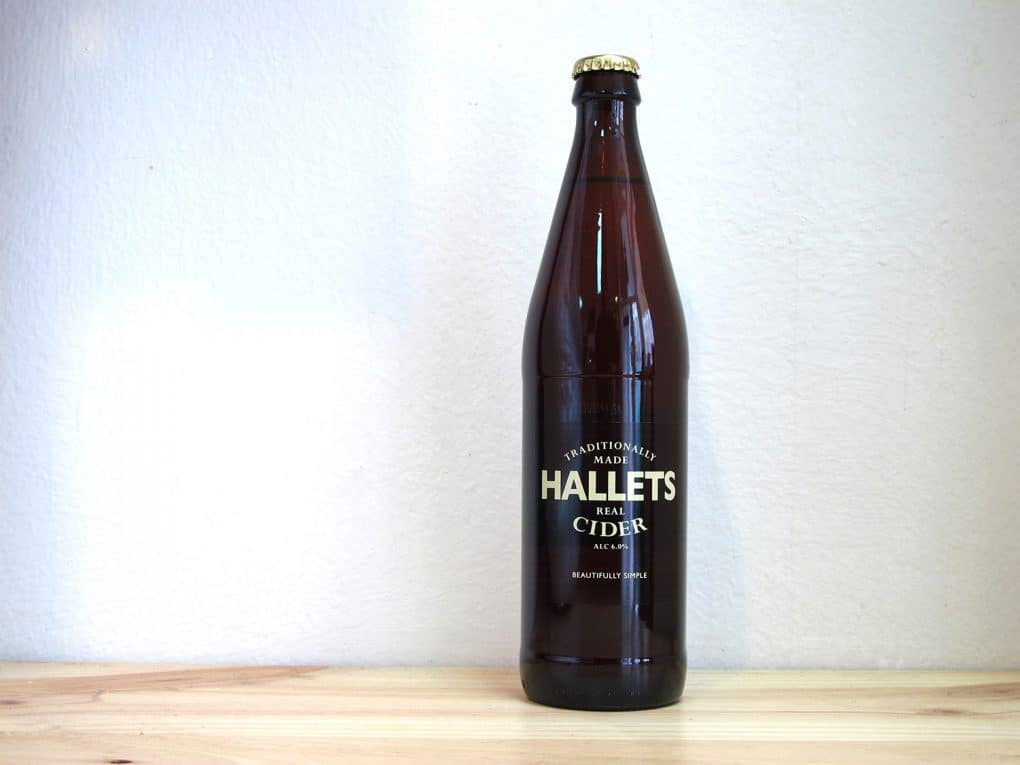 Sidra artesanal Hallets Real Cider