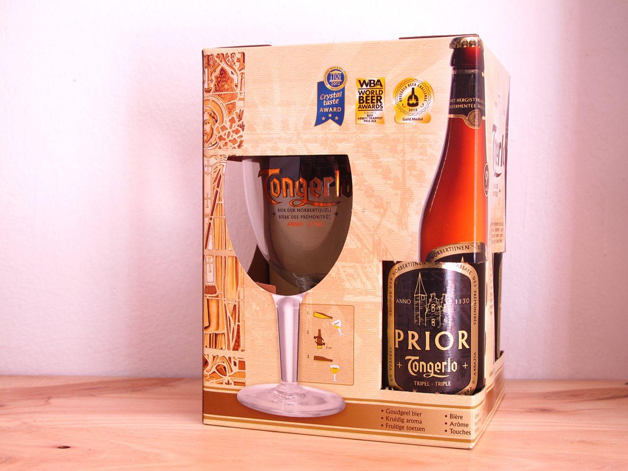 Pack Tongerlo 3 estilos de cerveza belga más copa
