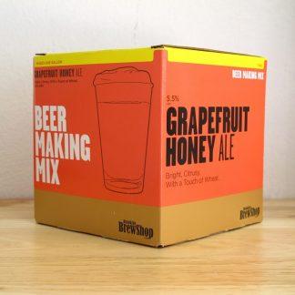 Recarga todo grano de Brooklyn BrewShop Beer Making Mix para elaborar cerveza Grapefruit Honey Ale