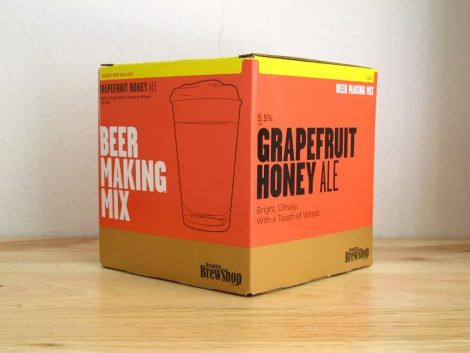 Brooklyn BrewShop Beer Making Mix - Grapefruit Honey Ale