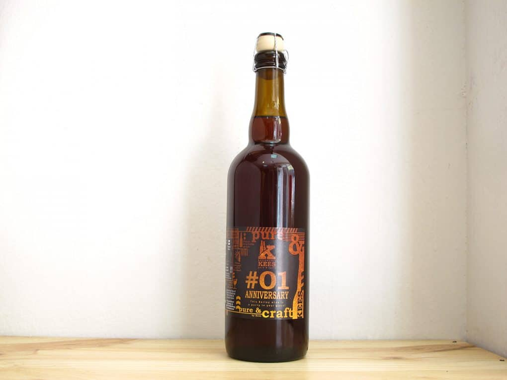 Cerveza Kees #01 Anniversary - Barleywine
