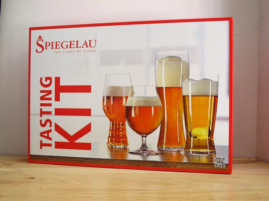 Spiegelau Tasting Kit 4 vasos para catar cervezas artesanas