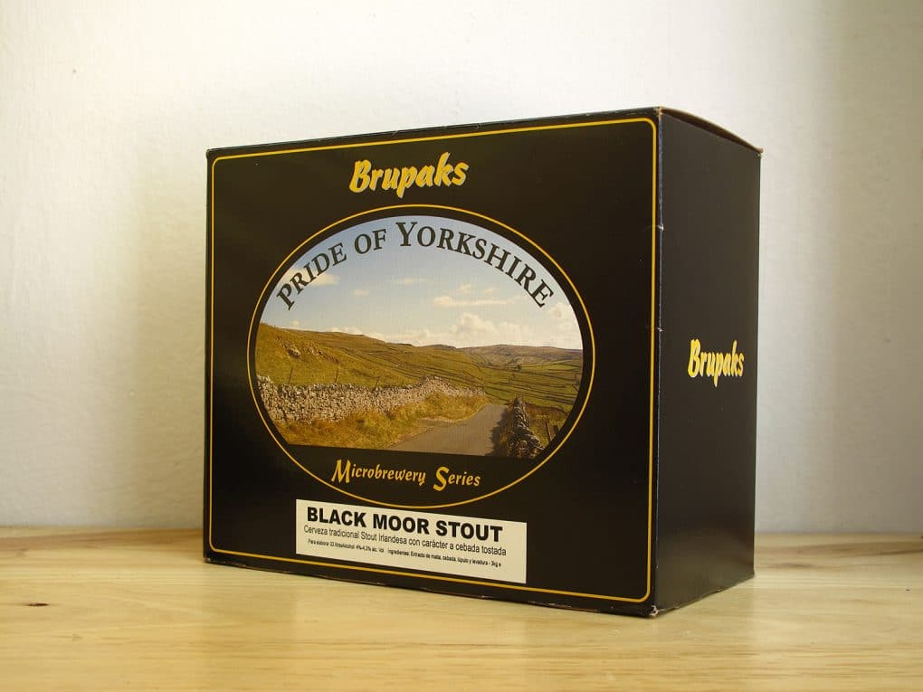 Extracto de malta Brupaks Black Moor Stout - Homebrewing