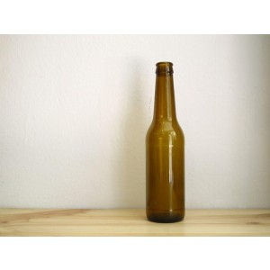 Botella de 33 cl para elaboración de cerveza casera hombrew