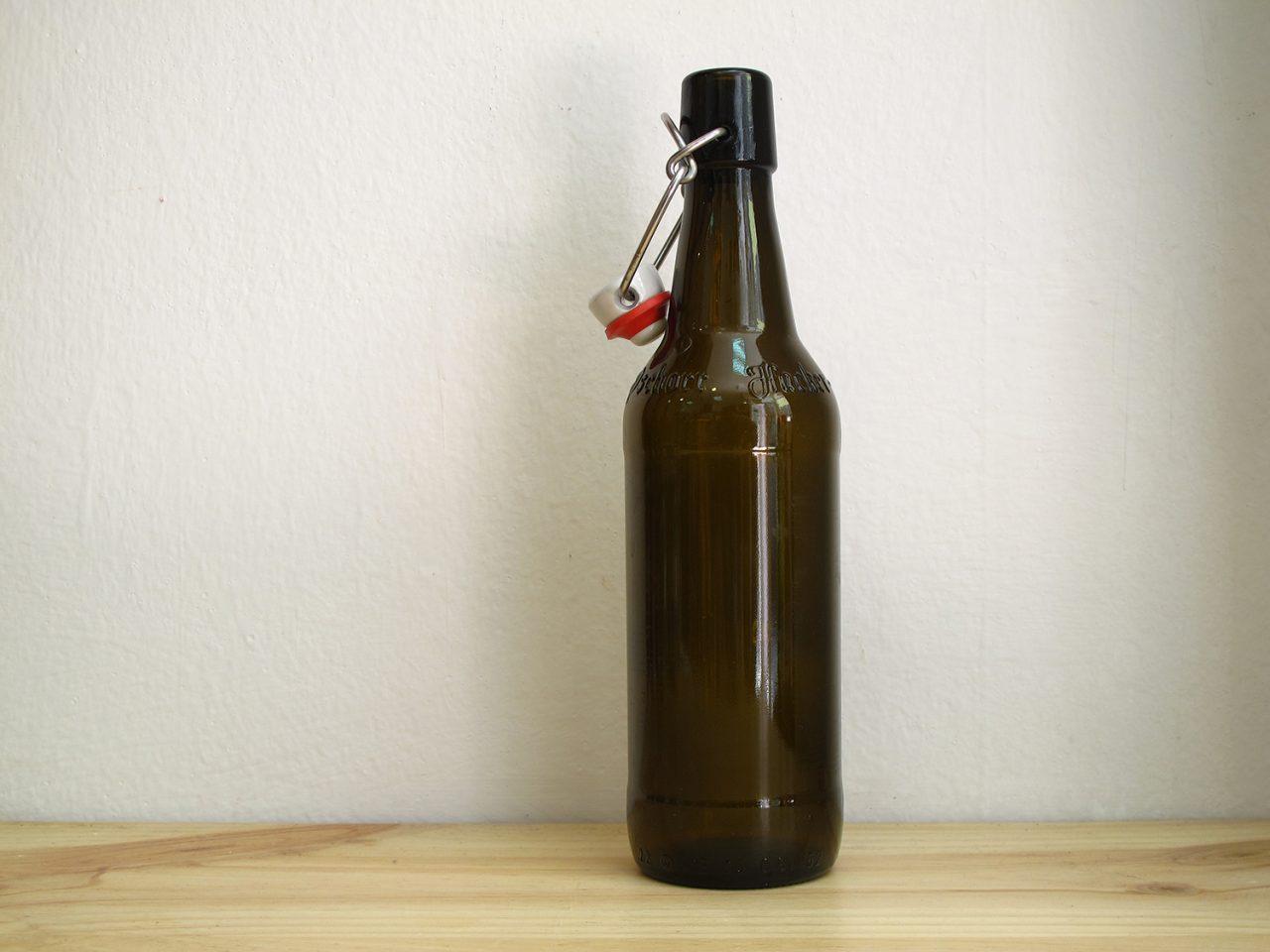 Botella de cerveza 50 cl cierre mecánico - elaboración casera