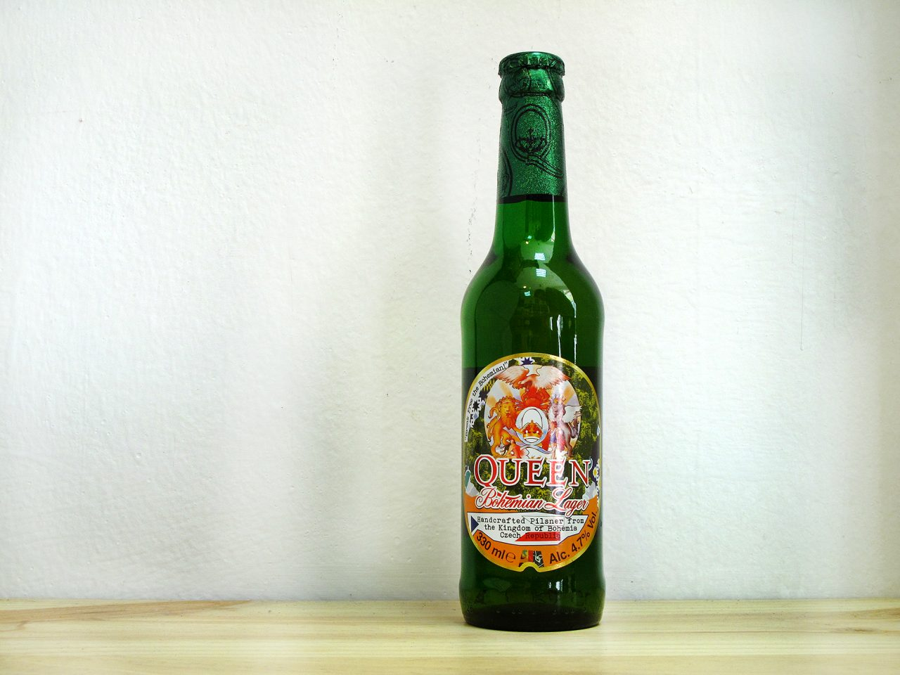 Cerveza Queen Bohemian Lager