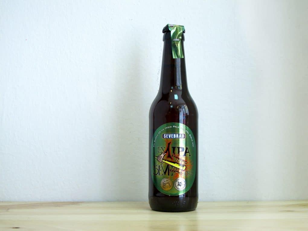 Cerveza artesanal Sevebrau Ex1 IPA