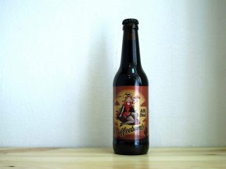 Botella de Cerveza La Grúa Coffeebomb Milk Stout