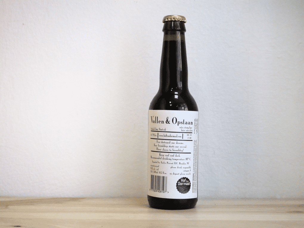 Cerveza De Molen Vallen & Opstaan - Smoked Stout