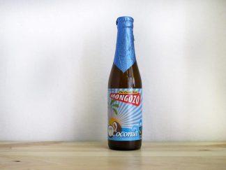 Botella de Cerveza holandesa Mongozo Coconut