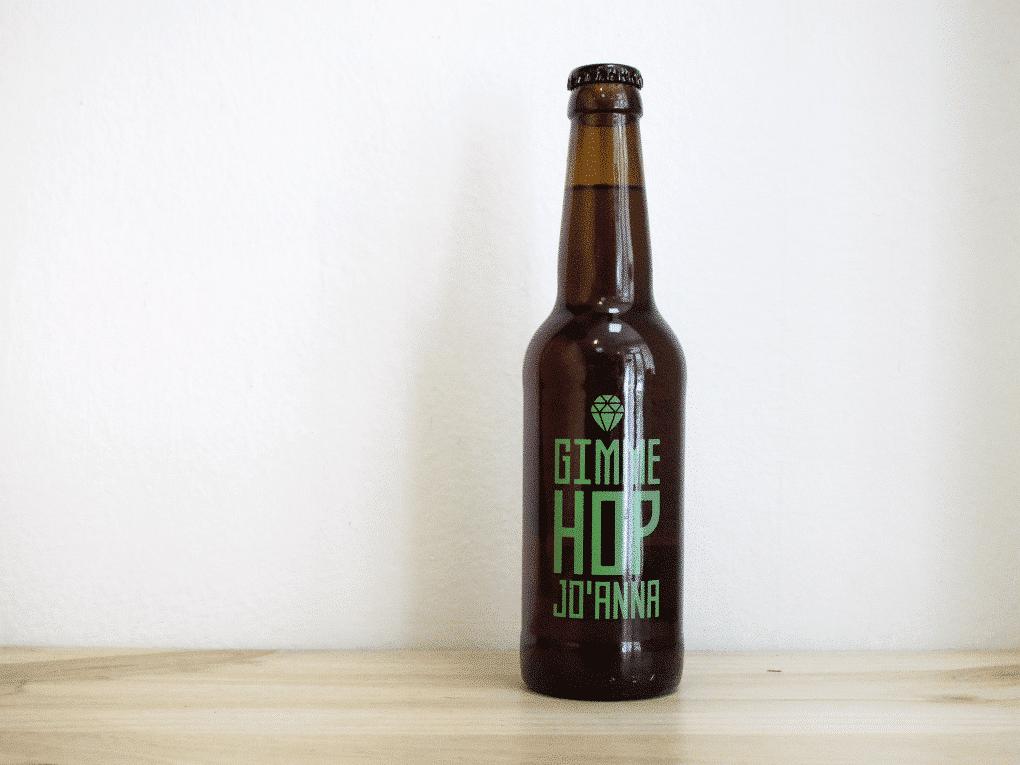 Botella de Cerveza Monsieur Gordo Gimme Hop Jo'anna