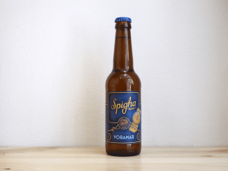 Botella de Cerveza Spigha Voramar Golden Ale