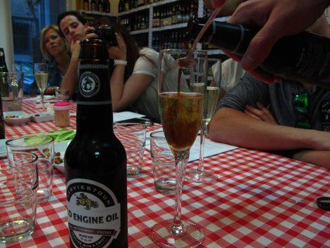 Cóctel de cerveza Black Velvet