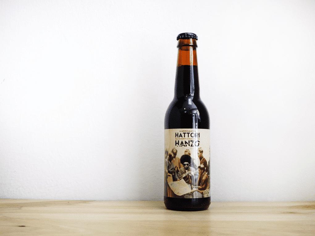 Cerveza La Calavera Hattori Hanzo - Black Hoppy Saison
